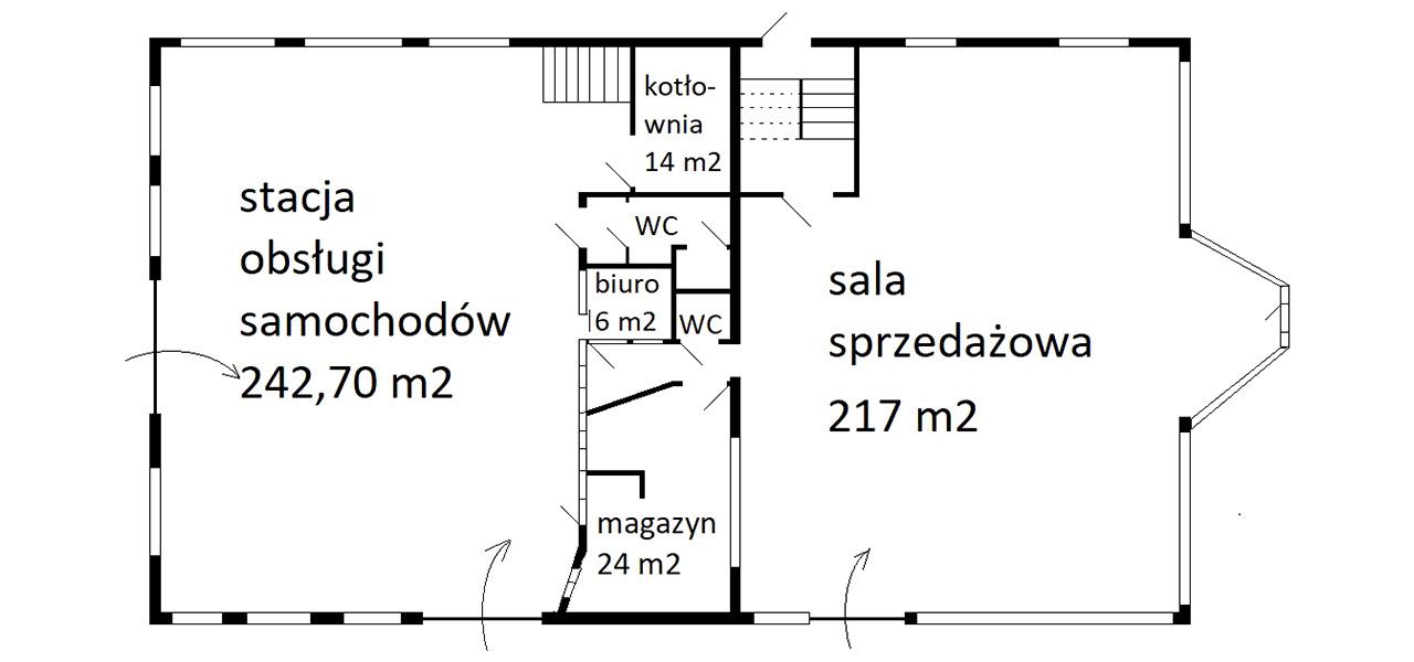 usługowo handlowy Zamość, Starowiejska - lokal na sprzedaż - Krzysztof Górski Nieruchomości Zamość
