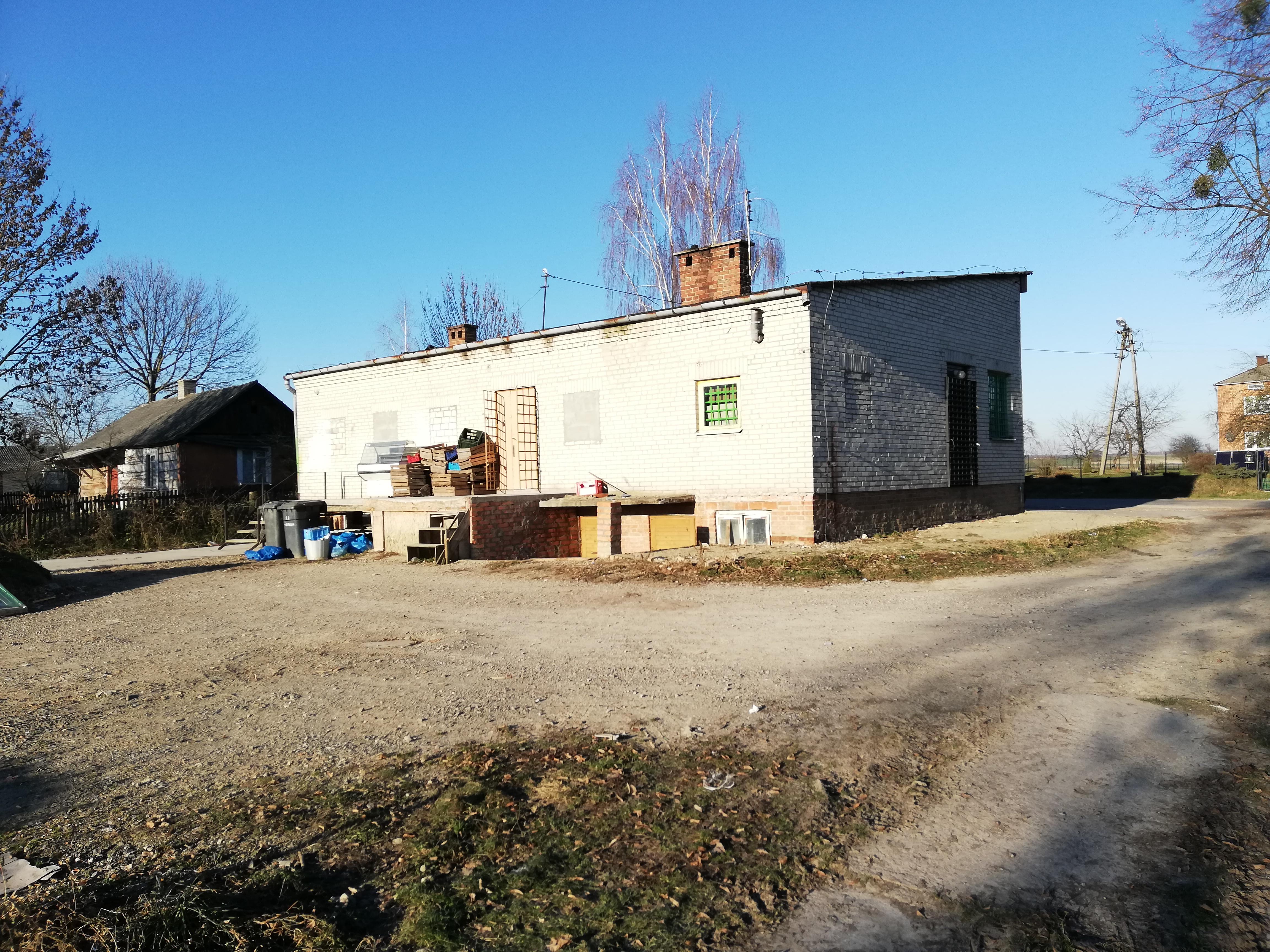 budynek usługowo-handlowy Tarnawa Duża - lokal na sprzedaż - Krzysztof Górski Nieruchomości Zamość