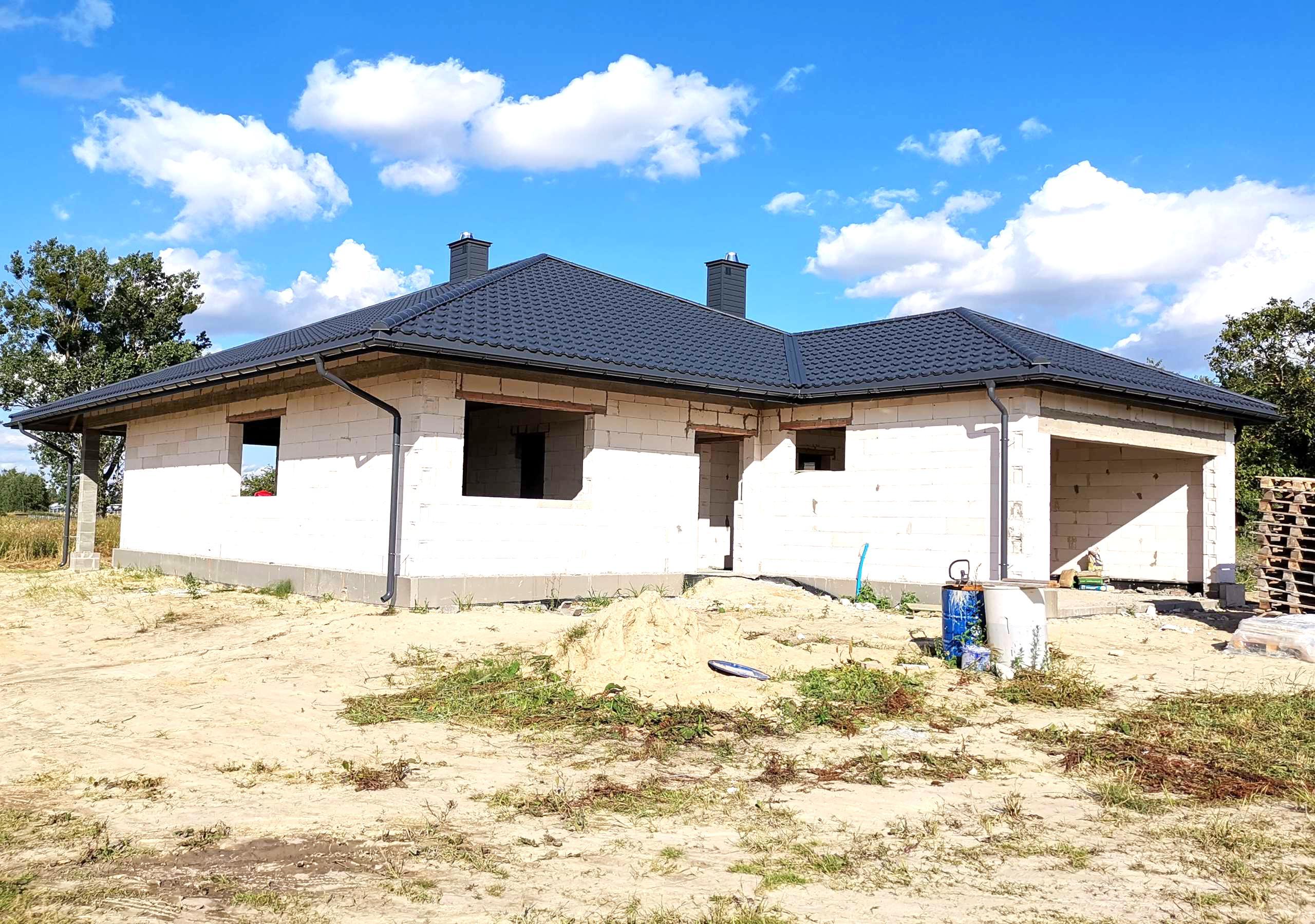 nowy dom ploskie - dom na sprzedaż - Krzysztof Górski Nieruchomości Zamość