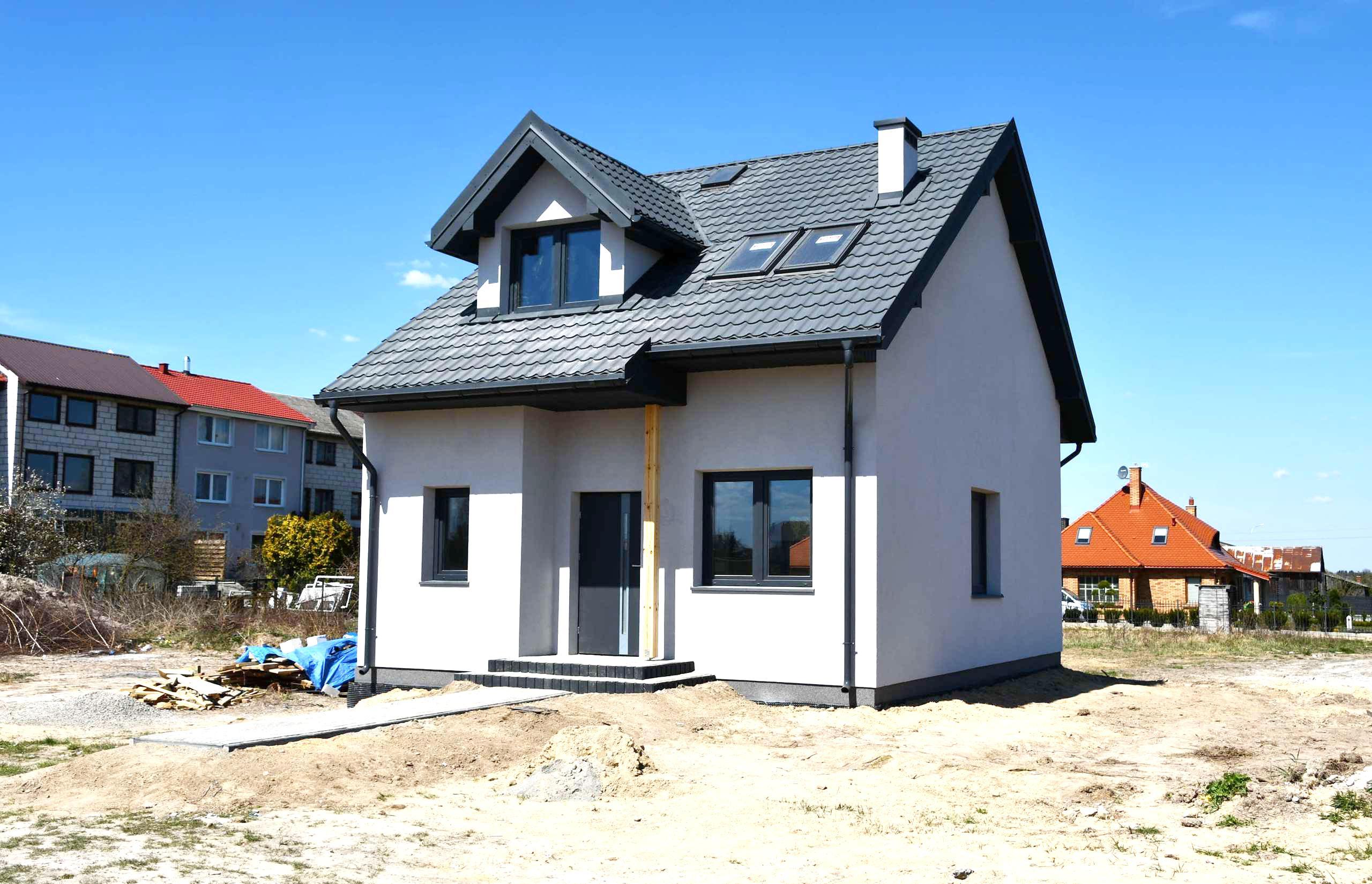 nowy dom Zamość, Drzymały, wersja TERMO - dom na sprzedaż - Krzysztof Górski Nieruchomości Zamość
