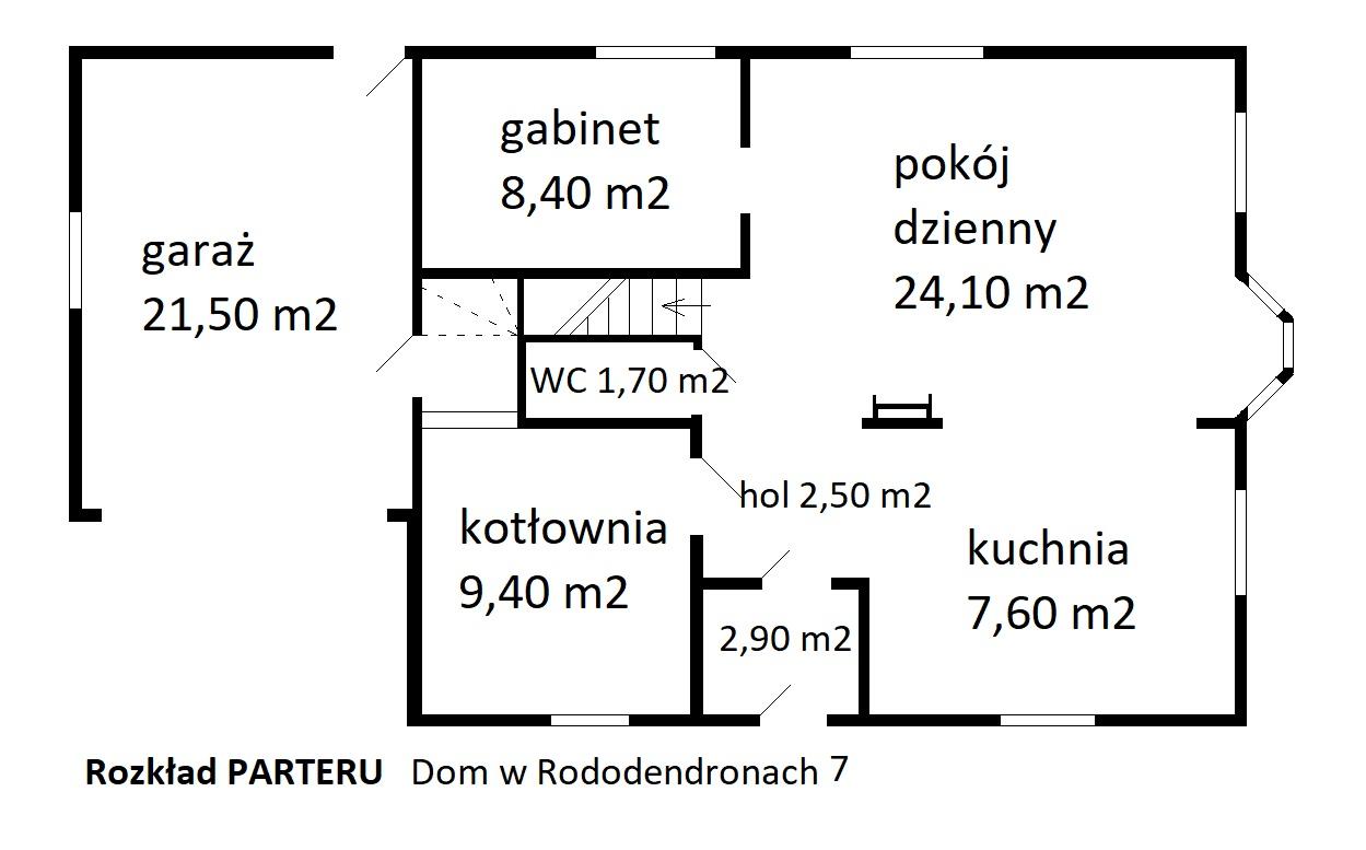 parter dom w rododendronach - Nieruchomości Krzysztof Górski Zamość, biuro nieruchomości, domy, mieszkania, działki, lokale, sprzedaż nieruchomości, wynajem nieruchomości