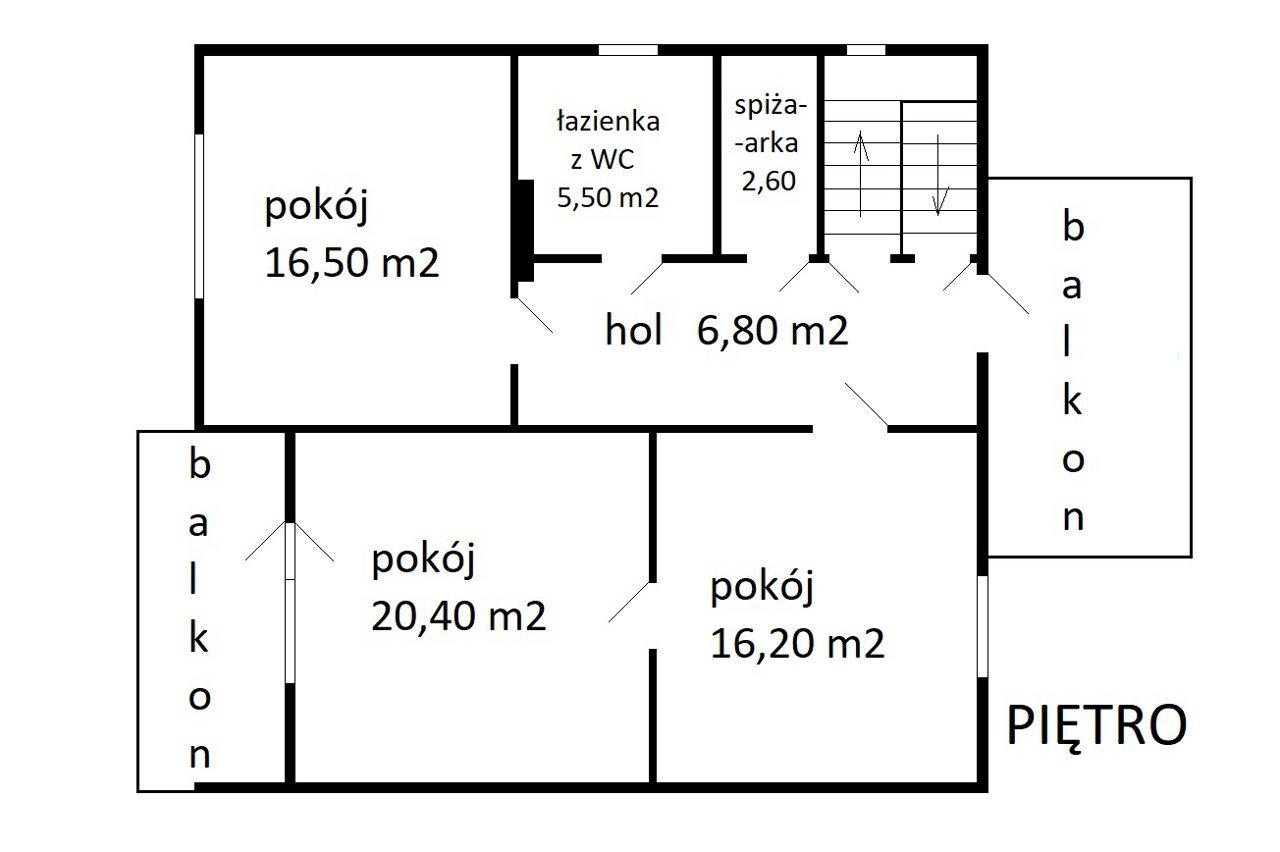piętro - Nieruchomości Krzysztof Górski Zamość, biuro nieruchomości, domy, mieszkania, działki, lokale, sprzedaż nieruchomości, wynajem nieruchomości