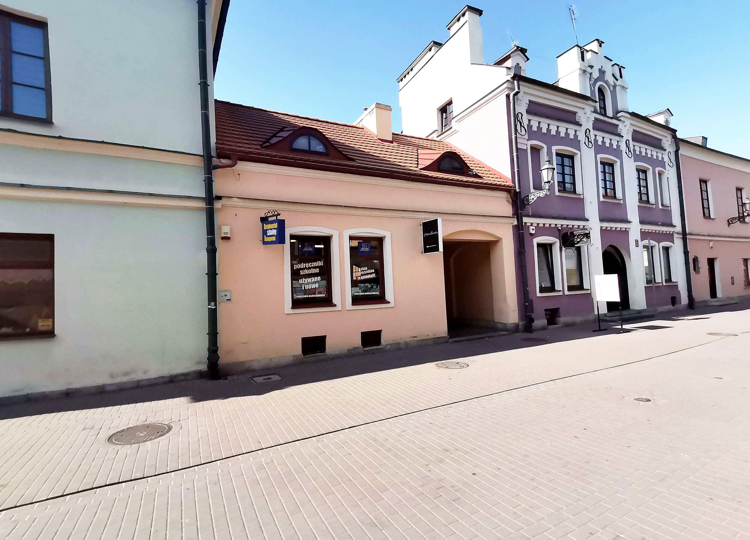 lokal zamosc starowka parter - lokal do wynajęcia - Krzysztof Górski Nieruchomości Zamość