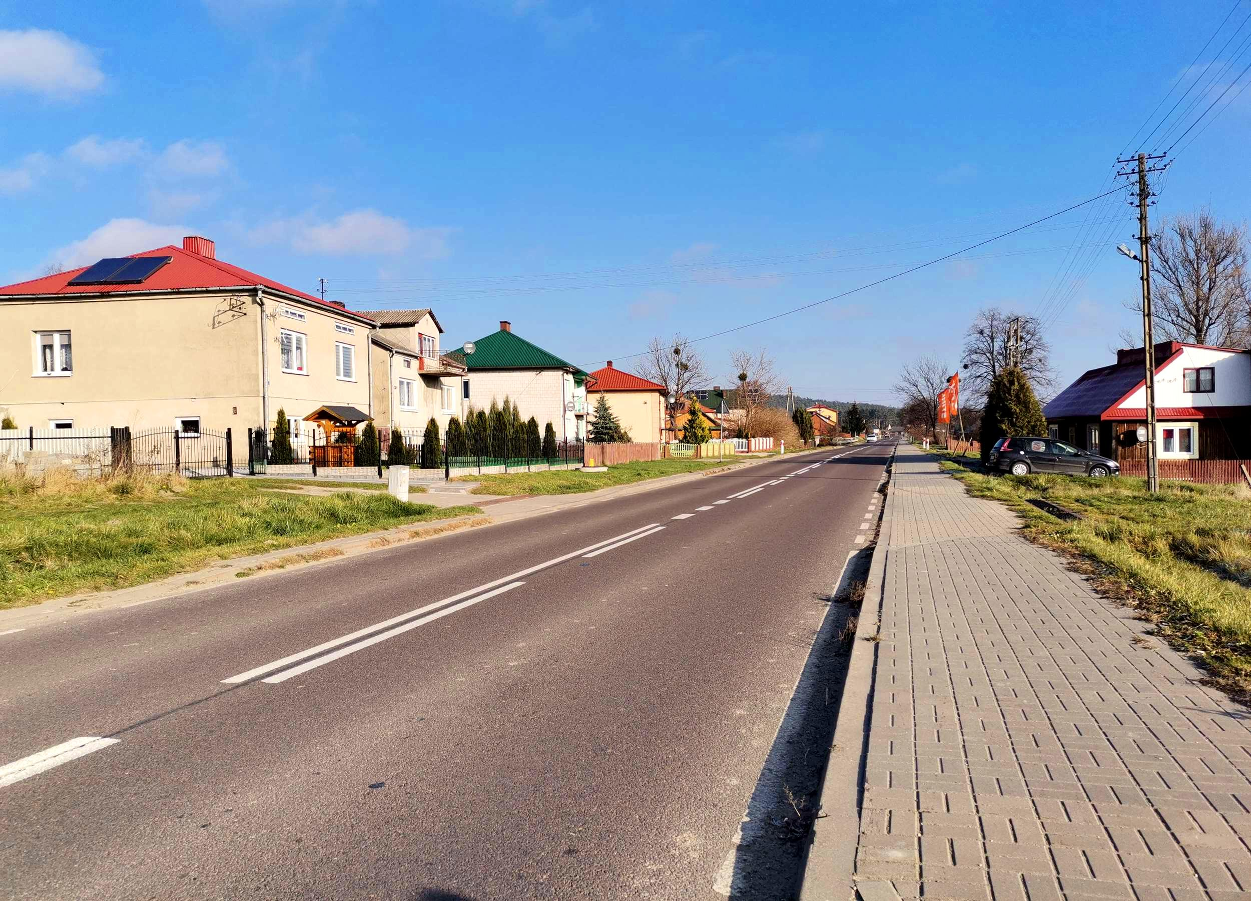 dzialka jacnia adamow - działka na sprzedaż - Krzysztof Górski Nieruchomości Zamość