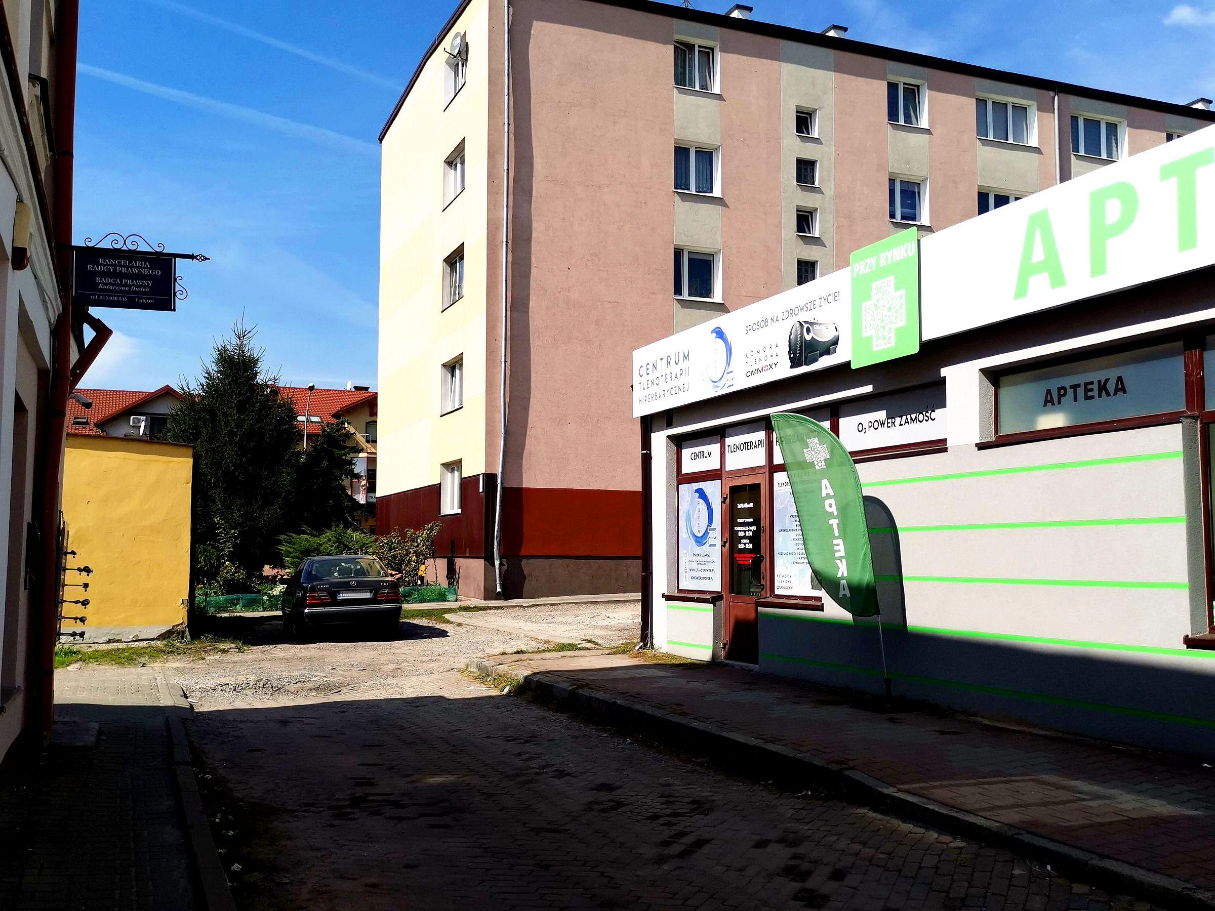 lokal parter nowe miasto - lokal do wynajęcia - Krzysztof Górski Nieruchomości Zamość